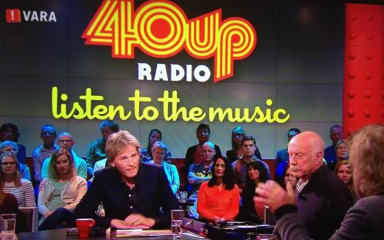 40up Radio gelanceerd in De Wereld Draait Door