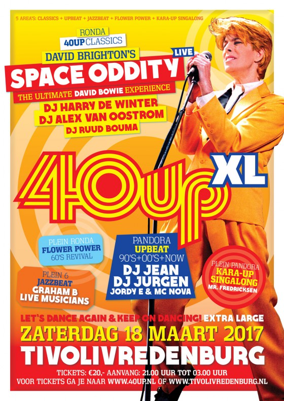40upXL 'Space Oddity' in Tivolivredenburg