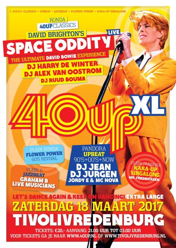 40upXL 'Space Oddity' in Tivolivredenburg